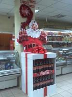 дисплей Санта